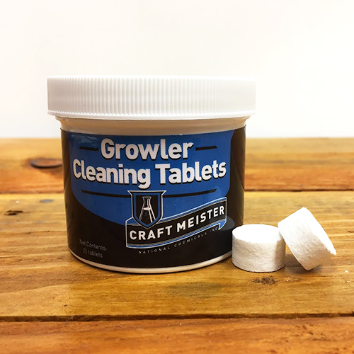 Craft Meister Growler Tablets - 25 count