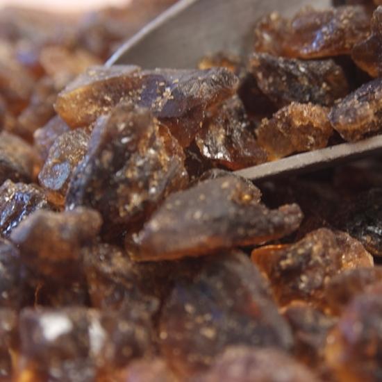 Belgian Hard Candi Sugar - Amber - 1 lb