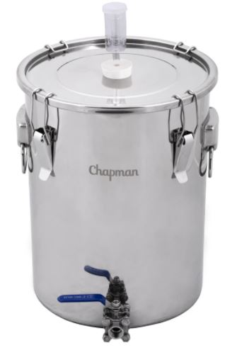 14 gallon stainless steel fermentor