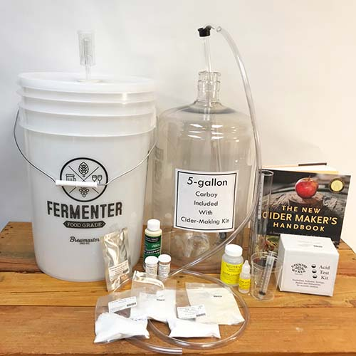 Starter Kit for Cider Making at Home