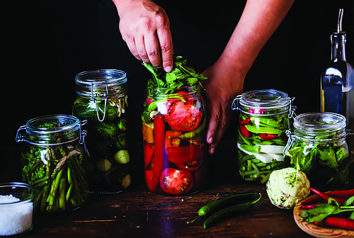 It's Alive! The Art of Fermenting Vegetables Class, Saturday, August 11, 2018. 1 - 3:30 pm