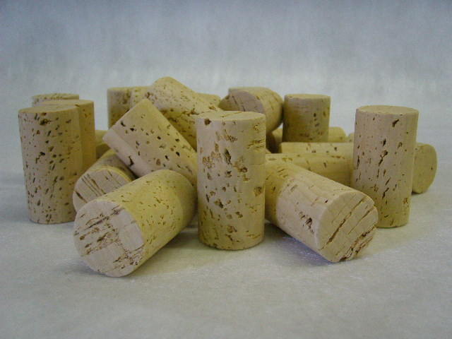 UF25 natural single piece wine corks