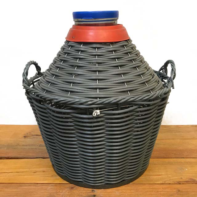 Glass Demijohn - 34 Liter - 9 Gallon - Wide Mouth