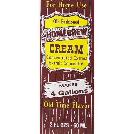Homebrew Sodas - Cream