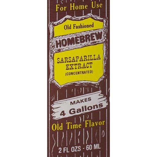 Homebrew Sodas - Sarsaparilla
