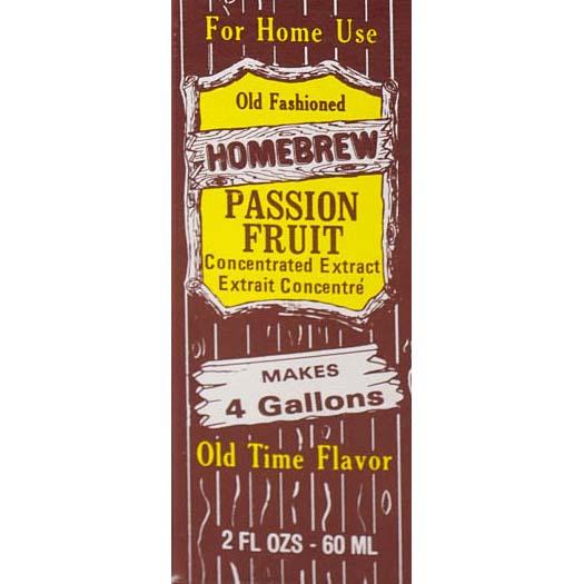 Homebrew Sodas - Passion Fruit