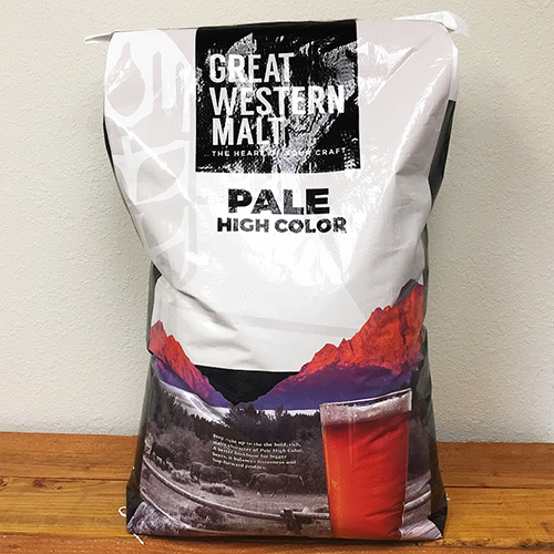 Great Western Pale Ale Malt - 55 lbs