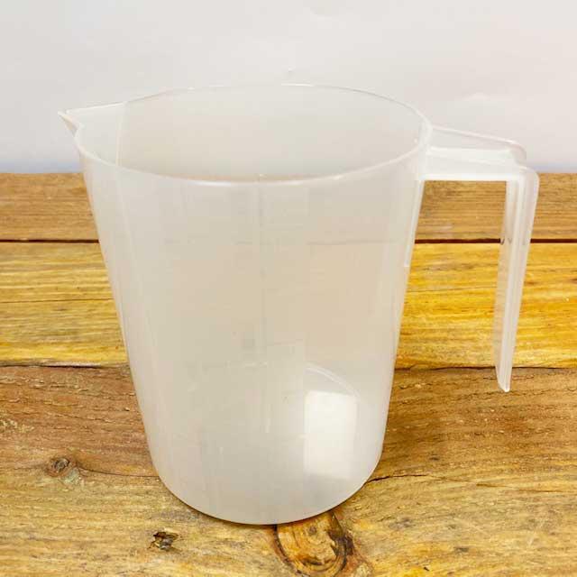 Graduated Beaker with Handle - 1 liter - Plastic