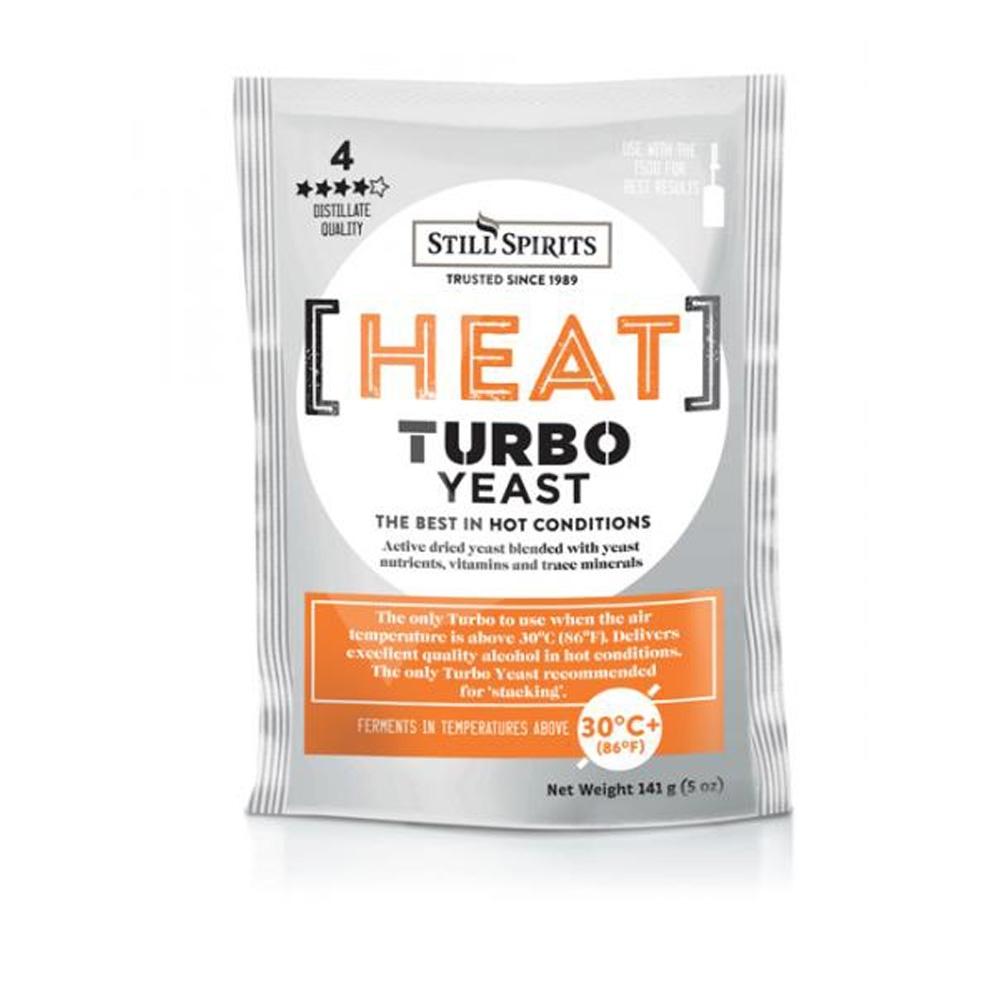 Heat Wave Turbo Yeast by Still Spirits - High Temperature Distillers Yeast - 138 g