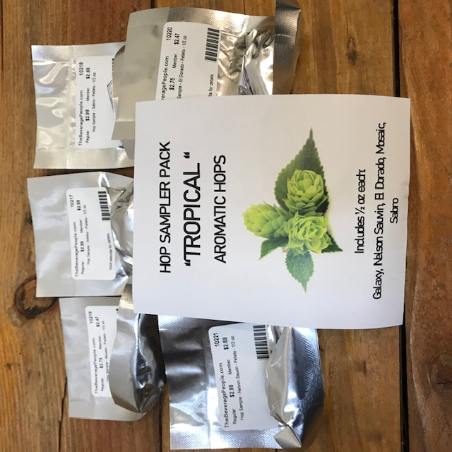 Hop Sample Multi Pack - TROPICAL AROMATICS