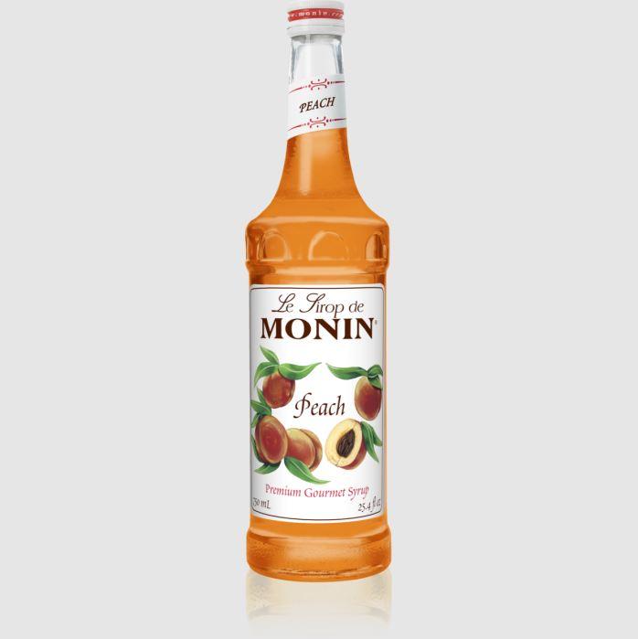 Monin® Syrup - Peach Flavor - 750 ml