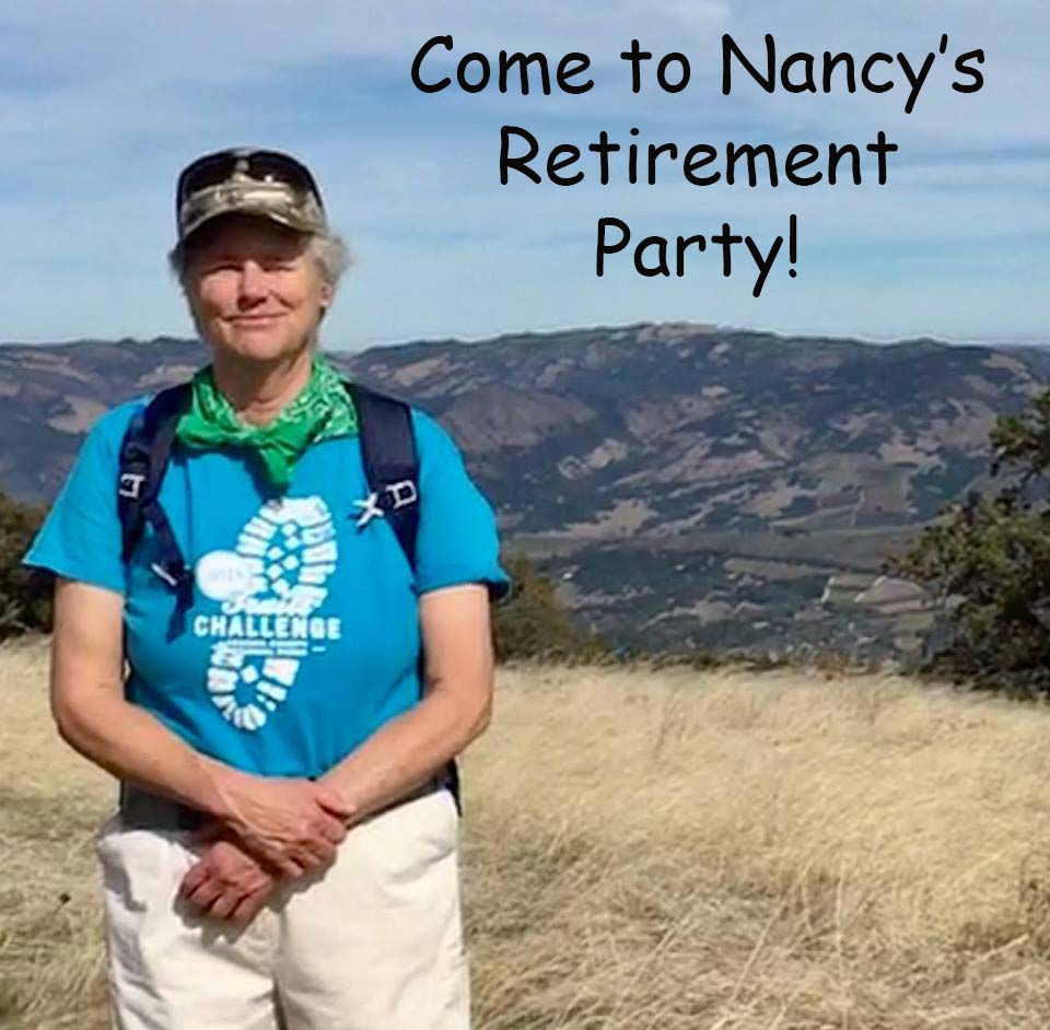 Nancy's Retirement Celebration - Saturday, March 30, 2019, 11:00 AM - 4:00 PM