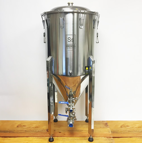 Ss Chronical - Brewtech Stainless Fermentor - 1/2 Barrel conical