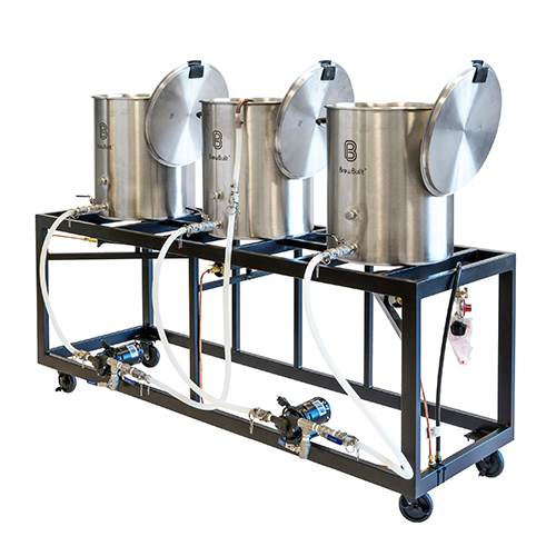 The iron forge horizontal craft brewery heavy duty for Craft kettle brewing equipment