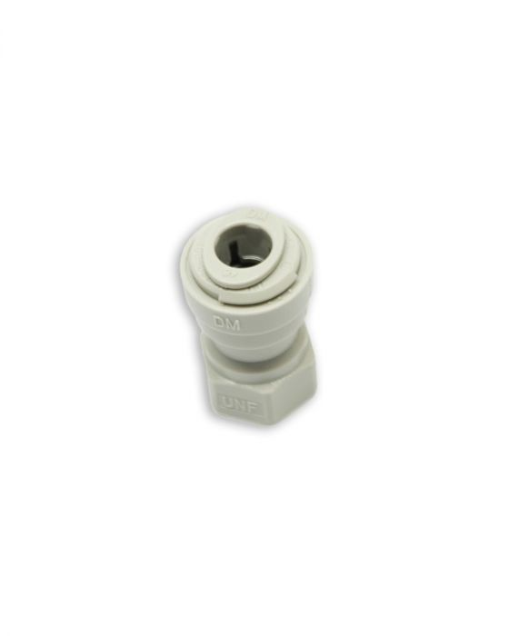 Push In Fitting - Adapter for Homebrew Quick Disconnects - accepts 8 mm OD tubing