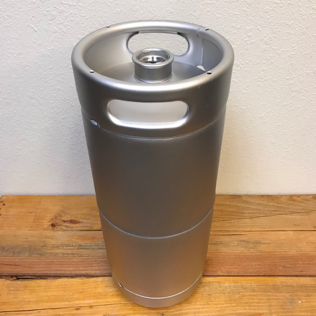 Sanke Keg with Screw Type Spear  - 20 liters - 5.25 gallons