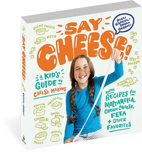 Cheesemaking Book for Beginners and Kids