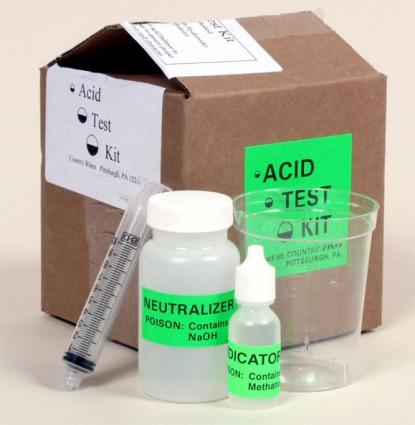 Acid Test Kit - Country Wines - Wine Acid Titration Kit