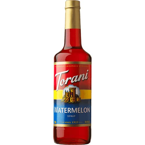 Torani® Syrup - Watermelon Flavor - 750 ml