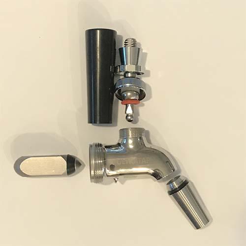 Ultratap Forward Sealing Beer Faucet - Stainless Steel