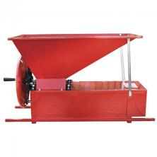 Enoitalia manual grape crusher destemmer painted cabinets