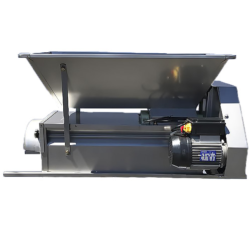 PRE-ORDER FOR JULY 2019 DELIVERY - Grape Crusher Destemmer - ALL STAINLESS - 110 Volt - Screw Feed Hopper