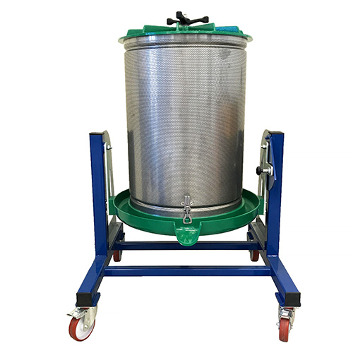 bladder grape press