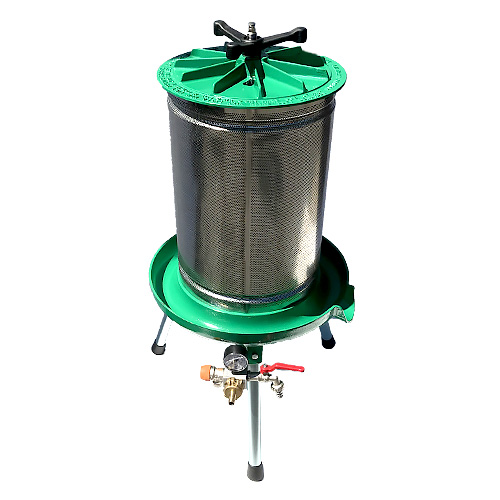 Water Bladder Wine Press - Stainless Cage - 21 gal - 80 L - Marchisio