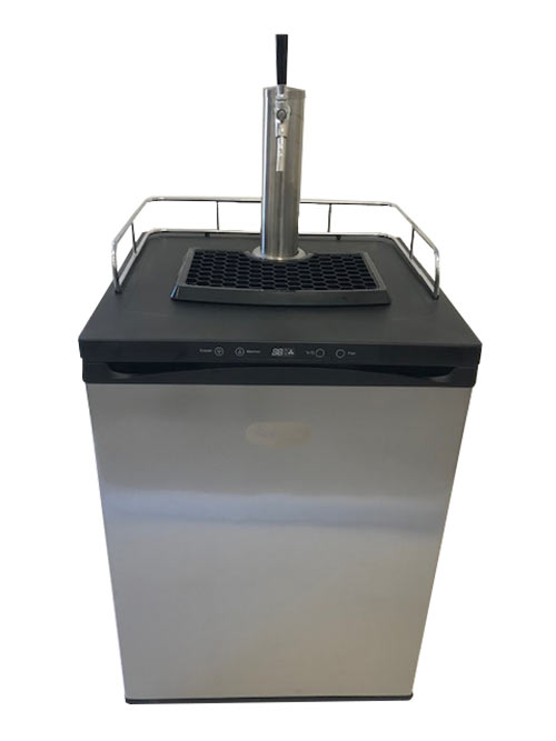 Winerator for Wine on Tap - Single Faucet Tower - Stainless Service Components - Temp range 26 - 82 degrees F.