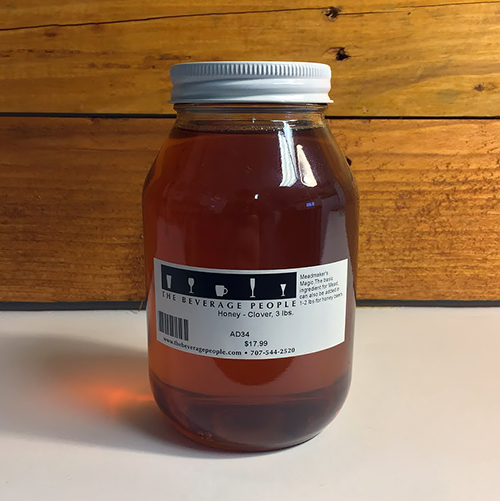 Honey - Orange Blossom, 3 lbs.