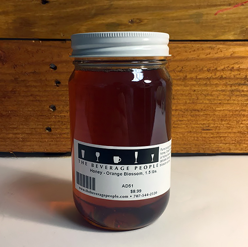 Orange Blossom Honey for Making Mead, Cyser, Melomel, Braggot, and Honey Beer