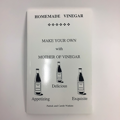 Homemade Vinegar, Watkins