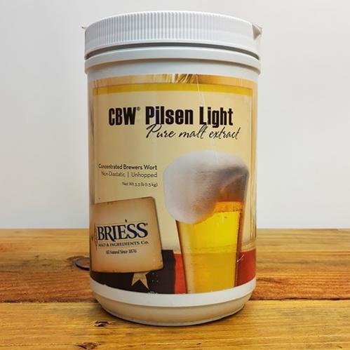 3.3 lbs. Briess Pilsen (Light) Malt Extract