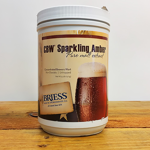 3.3 lbs. Briess Amber Malt Extract