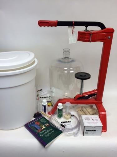 Winemaking Equipment Kit - 6 gallons