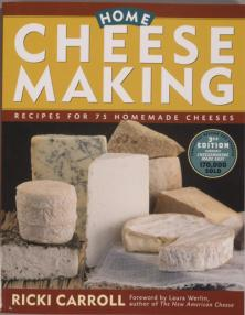 Home Cheesemaking, Carroll, 3rd Edition