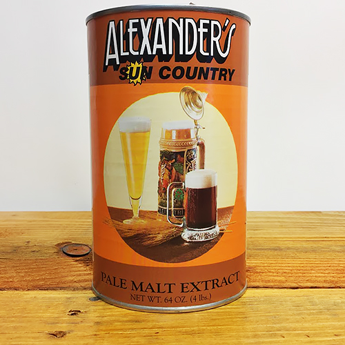 Alexander's Pale Malt Extract - 4 lb. can