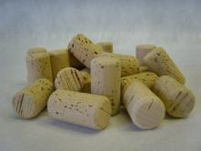 Chamfered Wine Corks - 1 3/4 in. - M.A. Silva - 1000 ct.