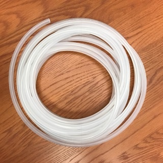 Antimicrobial Vinyl Hose, 3/16 inch, per foot