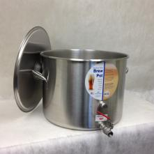 Kettle - Polarware Brewpot 60 qt with Cover and 1/2 S/S Ball Valve