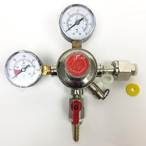 CO2 Regulator - Double Gauge - 0-60 PSI