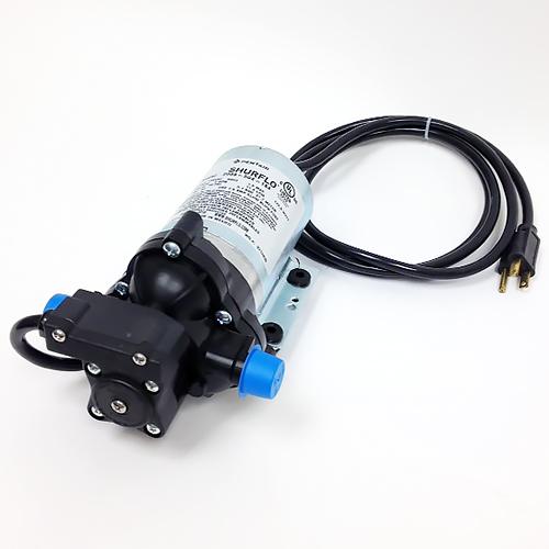 Pump - Self Priming Diaphragm - Shurflo - 1/2 MPT ports