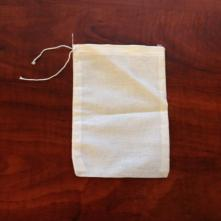 Muslin Hop Bag, each (5 x 7) with draw-string