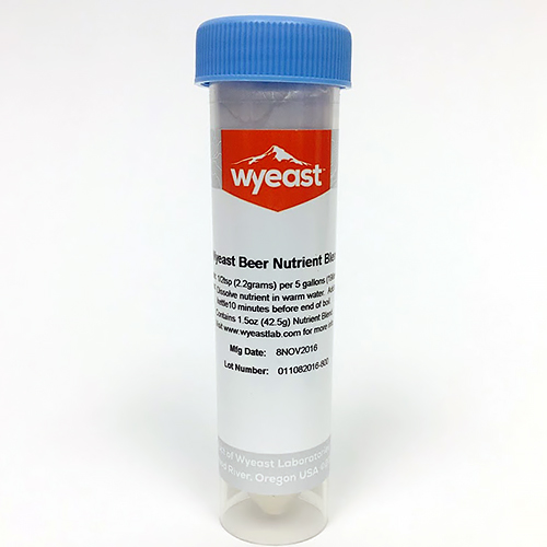 Yeast Nutrient for Beer - 1.5 oz. Vial