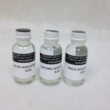Replacement Acid Standards-Set of 3 (Lactic, Malic, Tartaric)