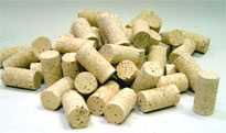 agglomerated twin disk wine corks