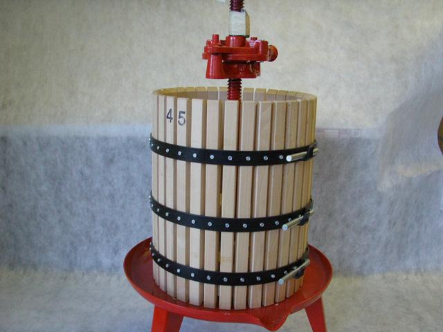 #40 Wine Press 16x21/18 gallon Rachet Press