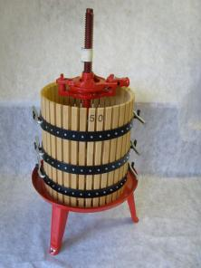 PRE-ORDER FOR JULY 2019 DELIVERY - #50 Wine Press 22-1/2 x 25-1/2 / 34 gallon capacity Ratchet Press.
