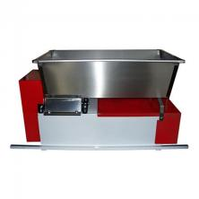 Grape Crusher/Destemmer with rubber rollers. Electric (110V), Screw Feed Stainless Hopper