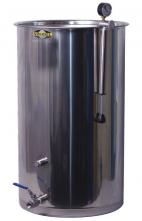 Speidel Variable Capacity Stainless Tank - 58 gallons (220 liters)- Rubber LId Gasket and Stainless valve
